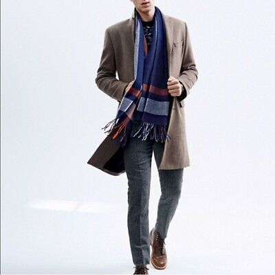 J.Crew Ludlow Topcoat Italian Wool Cashmere 40R NEW with tags