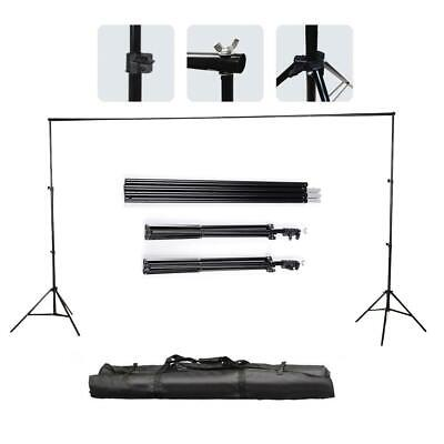 2x3m Photography Studio Background Backdrop Support System Set Stand Crossbar UK