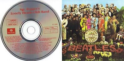 The Beatles - Sgt Pepper's Lonely Hearts Club Band with slipcase & 24 page book)