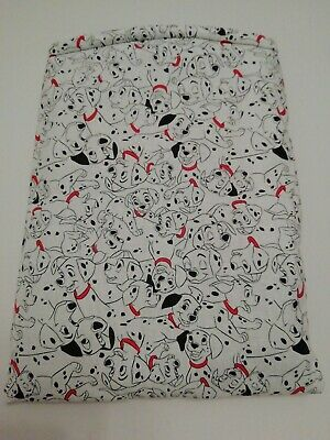 Book Sleeve. 101 Dalmatians Holiday book Pouch.Book protector.Holiday. Handmade