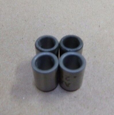 """1/4"""" ID x 3/8"""" OD x 1/2"""" TALL STAINLESS STEEL STANDOFF BUSHING SPACERS (4pc.)"""