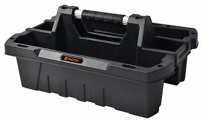 Tactix Open Tote Tray Tool Organiser Hand Tool Parts Carrier Heavy Duty Plastic