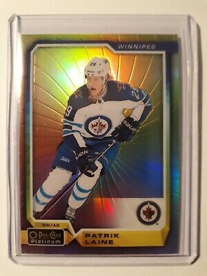 2018-19 OPC Platinum Rainbow Color Wheel Patrick Laine Winnipeg Jets #128