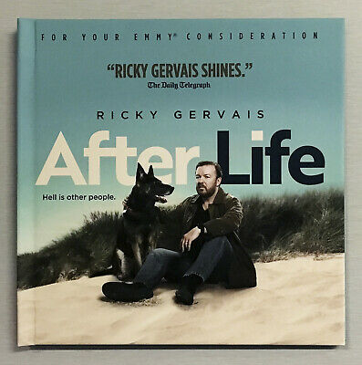 AFTER LIFE Ricky Gervais Complete Season 1 Netflix 2019 Emmy FYC DVD BRAND NEW!