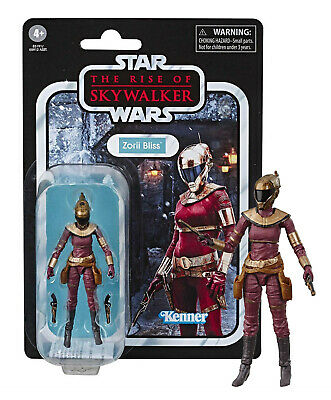 "Kenner Star Wars The Rise of Skywalker Zorii Bliss 3.75"" Figure Mint on Card"