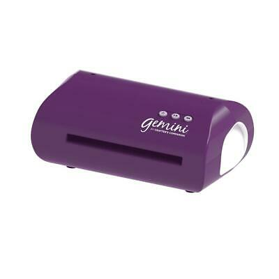 Crafters Companion PURPLE Gemini Die Cutting And Embossing Machine & Accessories