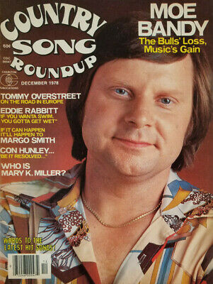 Country Song Roundup Magazine Dec 1978 - Moe Bandy - No Label - EX