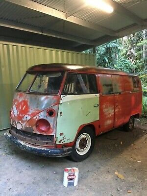 Kombi PMG split window barn find