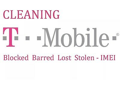 T-Mobile USA iPhone/SamSung/LG/ Unbarring Service Clean Your IMEI