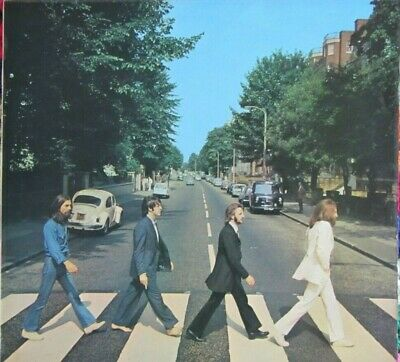 THE BEATLES  **  ABBEY ROAD Orig Album Cover  ** APPLE RECORDS 1969