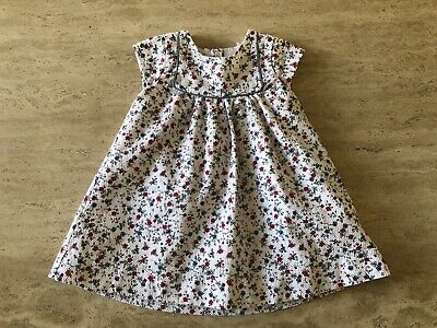 Mothercare ~ Baby Girls Floral Summer Dress ~ Age 6-9 Months