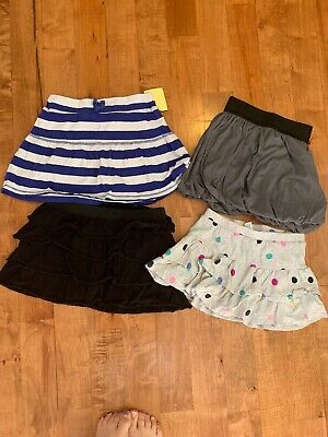 Lot Of 4 Girls skirts size 7/8 Justice, Children's Place EUC