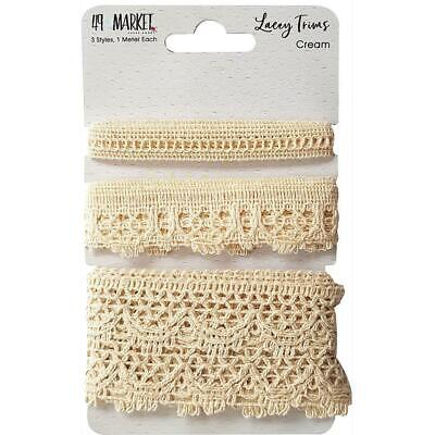 NEW 49 And Market Lacey Trims - Cream