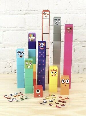 CBeebies Number Blocks 1-5 Ideal Home Learning or Numberblocks Cake Decoration
