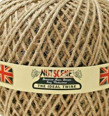 BUY 2 GET 2 FREE!! Natural Garden Craft String 5 Ply Thick Luxury Jute Twine