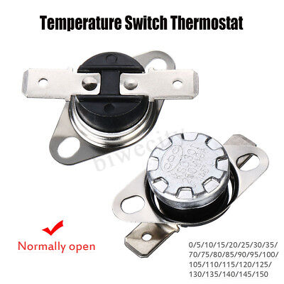 250V 10A KSD301 Normal Open 0-150° Thermostat Temperature Thermal Control Switch