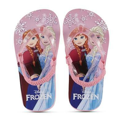 Character Toddler Girls' Frozen Pink Flip-Flop Sandal, Size 7/8, New With Tag