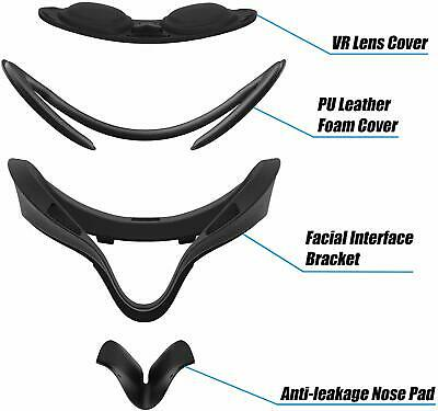 Amvr Vr Facial Interface & Foam Cover Pad  Comfort Set For Oculus quest