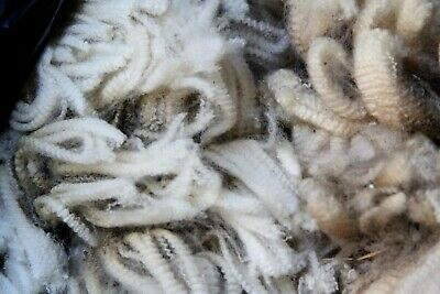 4kg Sheep wool FLEECE Merino - unwashed Spinning Dolls Wigs Felting organic art