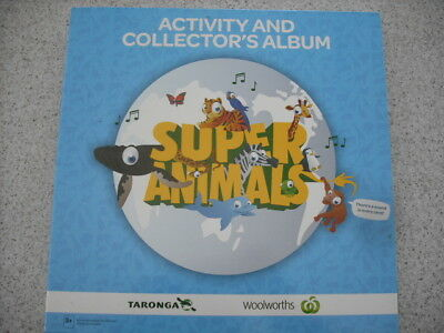 Woolworths Super Animals  Album And Full Set Of Cards Numbers 1 To 108