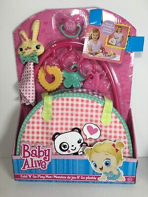 Baby Alive Fold N Go Playmat  New. Rare