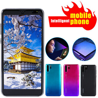 P33 Pro 5.8 inch Android 8.1 Mobile HD Phone Smartphone GPS Navigation 4G+64G+64