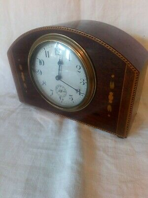 Edwardian French Mantle Clock For Spares Or Repair