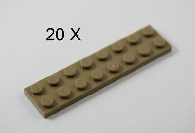 LEGO Light Bluish Gray Plate 8x8 Lot of 10 Parts Pieces 41539