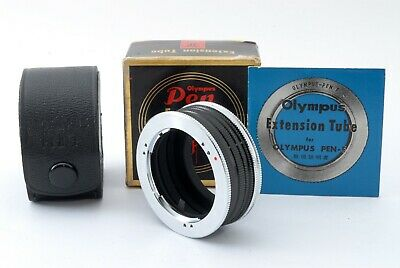 Olympus Extension Tube Macro Adapter For PEN F, FT, FV from JAPAN [Near Mint]