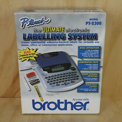 Brother P-Touch Labeling System PT-2300 Label Printer Maker Brother