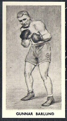 -#28 MATT WHITE PRINT CARTLEDGE-FAMOUS PRIZE FIGHTERS BOXING HENRY ARMSTRONG