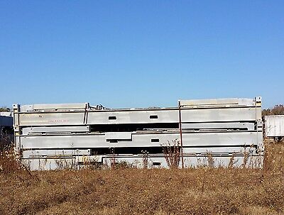 FLAT RACK 40' COLLAPSIBLE MAX  GROSS WT 67200 lb TARE WT 22000 LB CSC TAGGED
