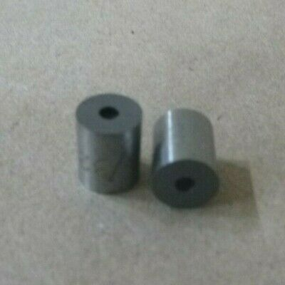 """3/32"""" ID x 5/16"""" OD x 3/8"""" LONG STEEL STANDOFF BUSHING SPACER SPACERS (2pcs.)"""