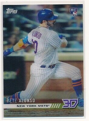 PETE ALONSO 2019 Topps Now 3D On Demand Rookie Class Motion RC Mets M-4