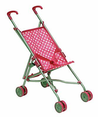 Dolly Deluxe Baby Doll Stroller Pram Buggy Girls Junior Fashion Babyboo Toy Gift