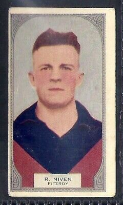 Hoadleys-Victorian Football Ers (51-100)-Aussie Rules-#051- Fitzroy - Niven