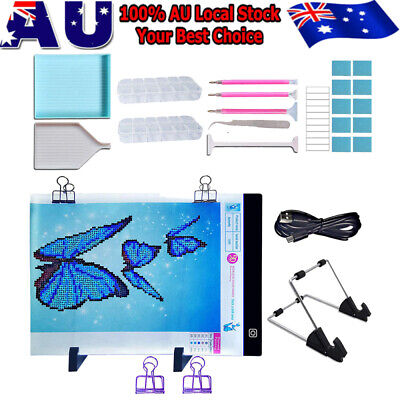 5D Diamond Painting Embroidery Accessories A4 Lamp LED Pad Light Drawing Board