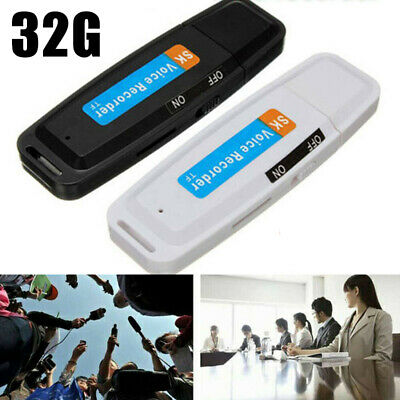 USB Flash Drive 32G Voice Audio Recorder USB Dictaphone Flash Drive Sound Record