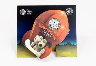 2019 50p COINS WALLACE AND GROMIT 30TH ANNIVERSARY BUNC  ***PRESENTATION PACK***