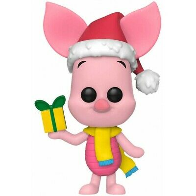 Funko Pop Disney Winnie The Pooh Piglet Holiday Vinyl Figure New!