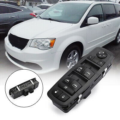 Power Window Switch New Black Front Left Hand For Town and Country Driver Side C