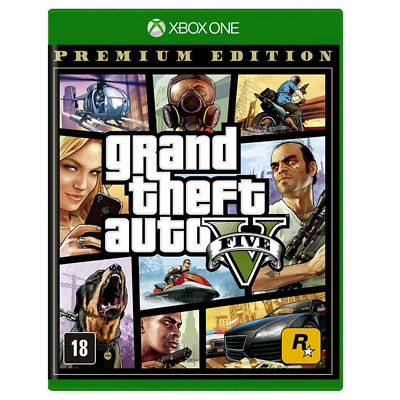 Gta 5 Grand Theft Auto V Premium Edition Playstation 4 Ps4 Nuovo Sigillato Ita