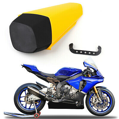 Rear Seat Cowl Cover Pillion For Yamaha YZF-R1 R1 2015-2018 Yellow