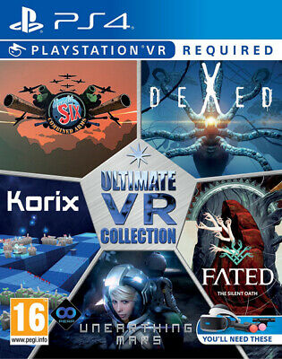 Ultimate VR Collection PS4 ~ BRAND NEW SEALED ~