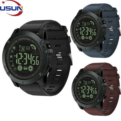 Usun Waterproof Men Smart Watch Bluetooth Pedometer For Huawei iPhone Xmas Gift