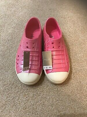 Brand New With Tags Next Girls Shoes/jelly Shoes Size 12 Toddler Size