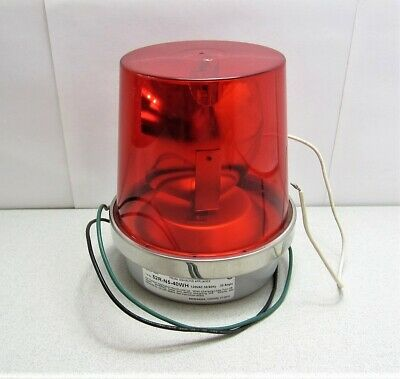 Edwards 52R-N5-40WH Red Rotating Light AdaptaBeacon New