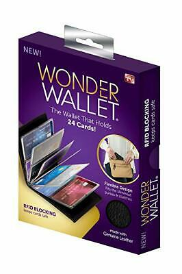 New! Wonder Wallet RFID Blocking Super Slim Design As seen on TV!