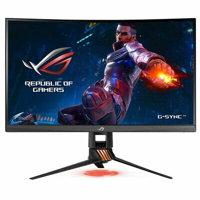 "ASUS ROG Swift PG27VQ 27"" 1440p 165Hz HDMI GSYNC Aura Sync Curved Gaming Monitor"