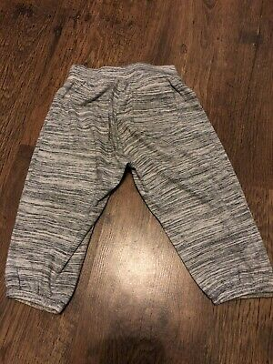 Gap Grey Marl Pedal Pusher Joggers. Age 6-7yrs